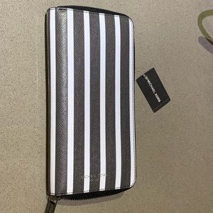 Michael Kors Striped Wallet